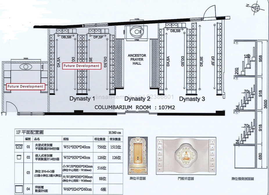 Lin San Temple 灵山寺 Interior Design