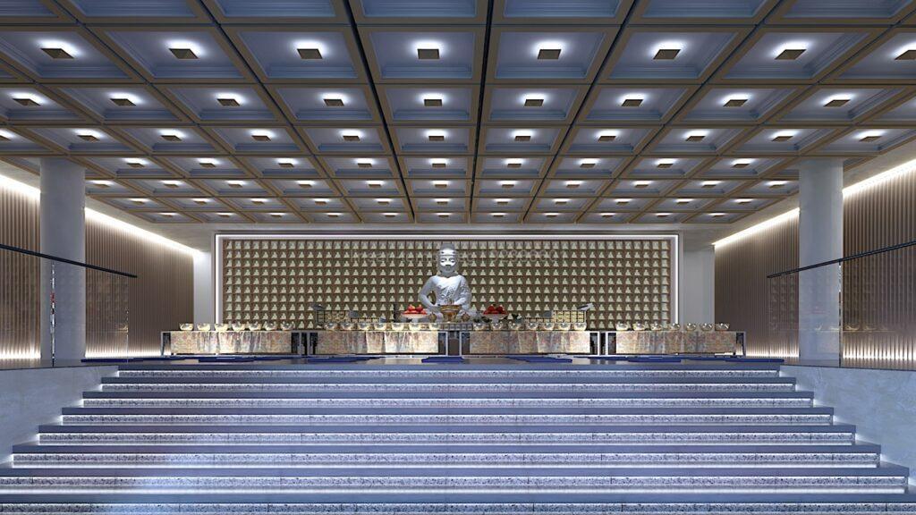 Lin San Temple 灵山寺 Main Hall