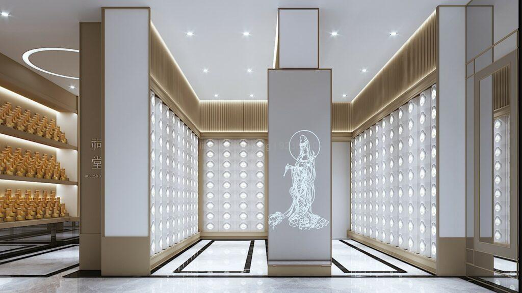 Lin San Temple 灵山寺 Columbarium Niche 骨灰塔